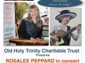 2018 Rosalee Peppard concert