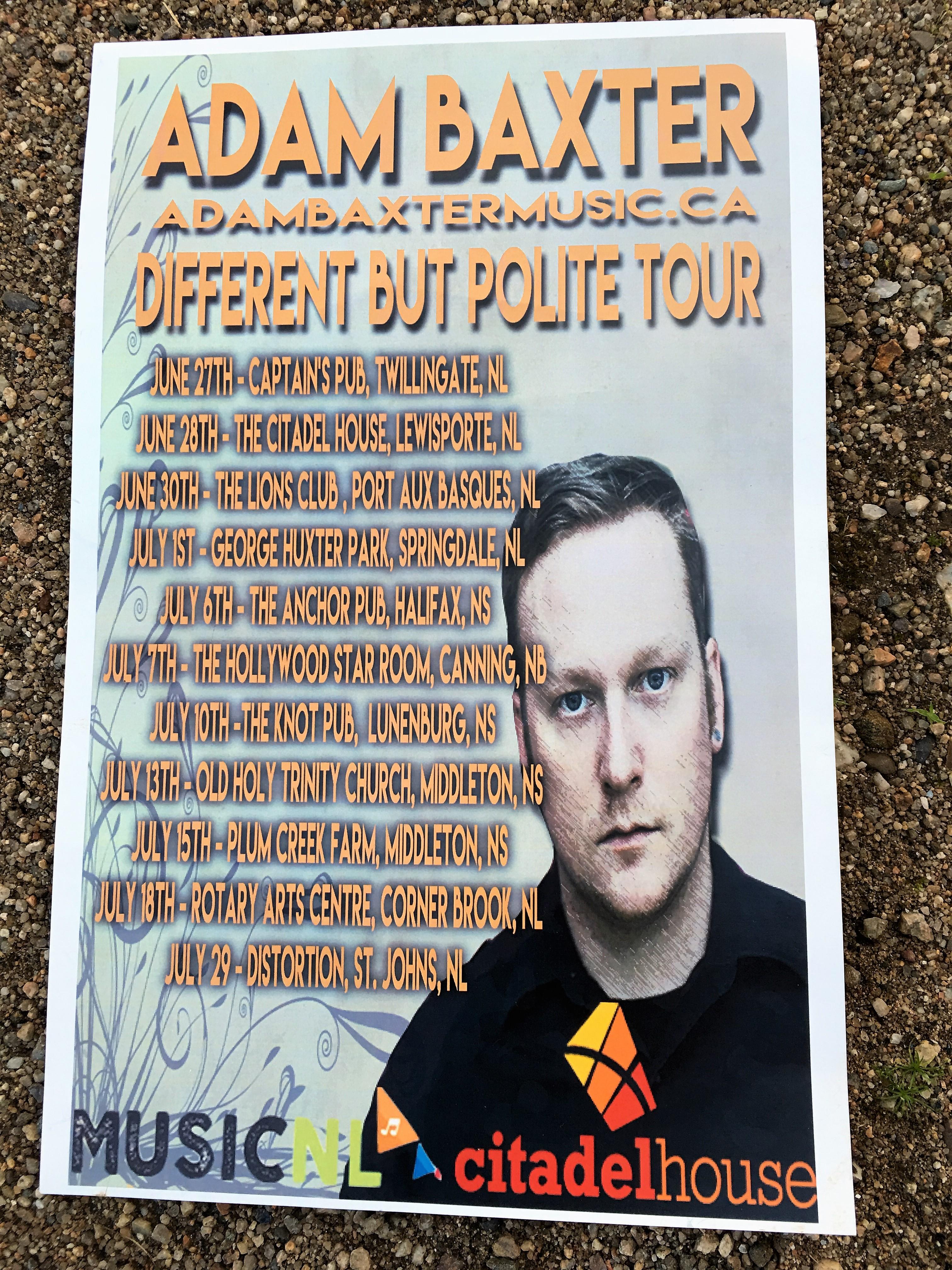 Concert Tour Poster